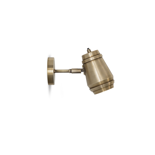 Cask wall light brass bert frank cask wall light brass aloadofball Choice Image