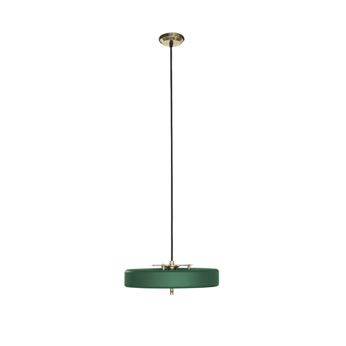 Bert Frank Revolve Pendant Green Brass Collection.jpg