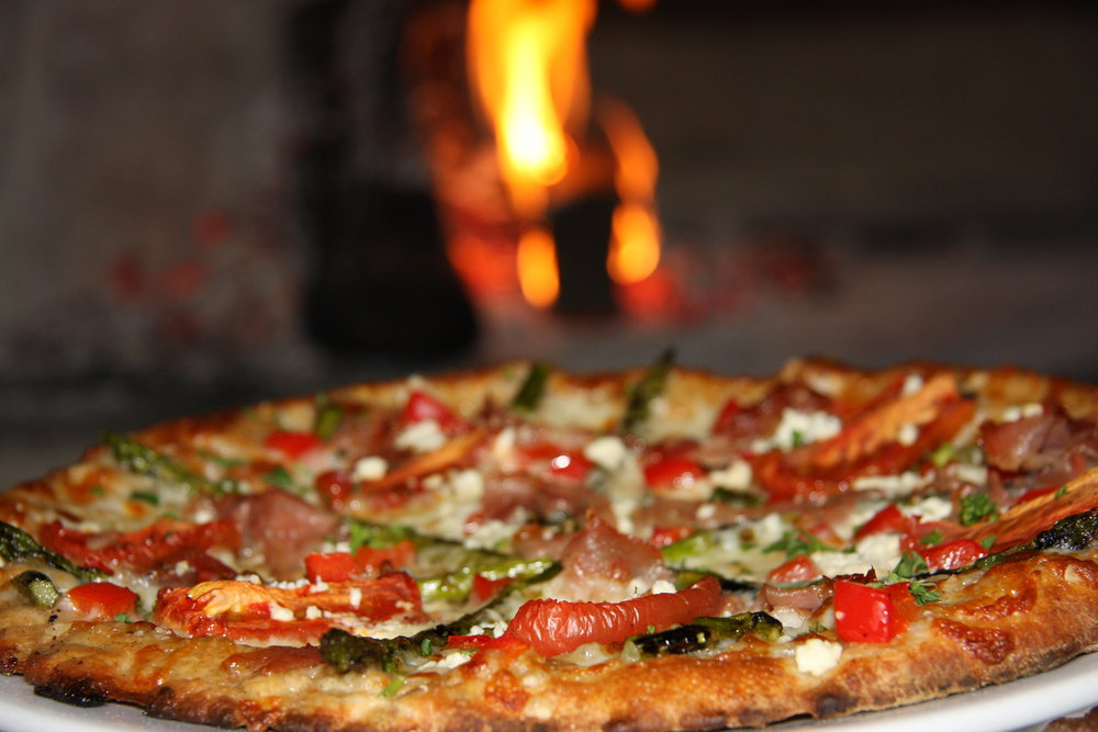 Pizza in front of oven.JPG