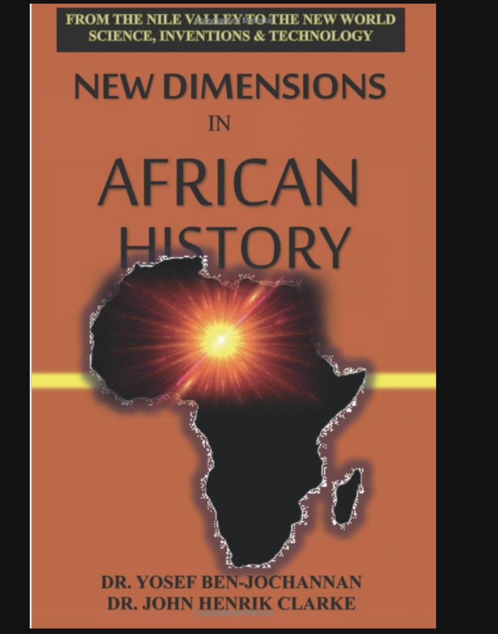 New Dimensions in African History