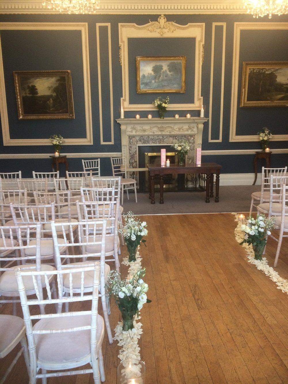 The Ceremony Room in Hibernia Club