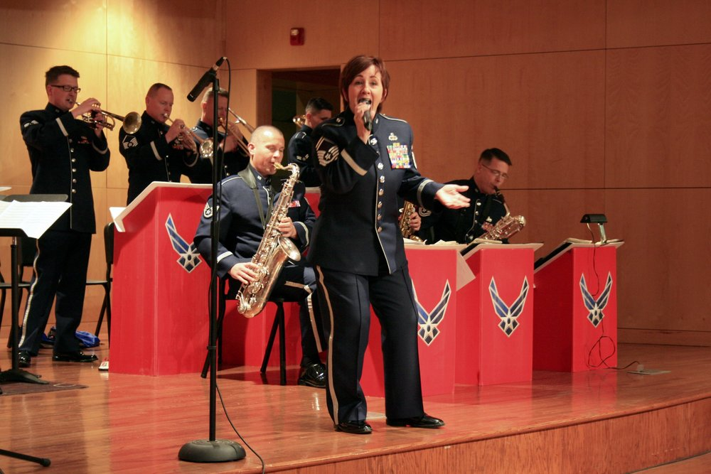 USAF Shades of Blue Jazz Ensemble