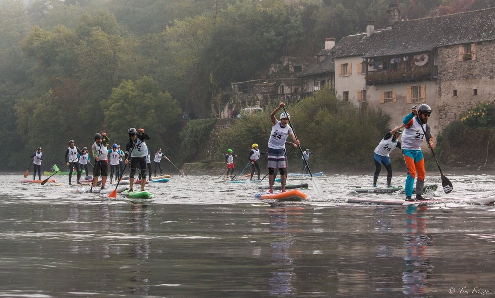 2nd annual Dordogne Paddle Race