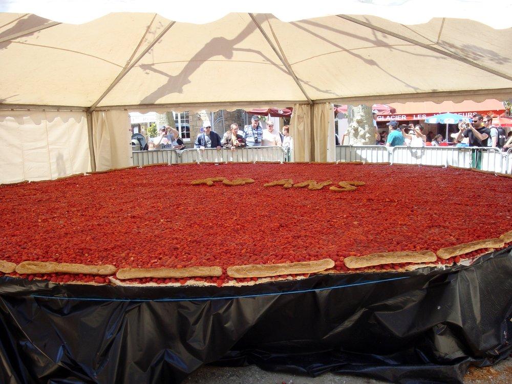 Années précédentes ronde tarte aux fraises