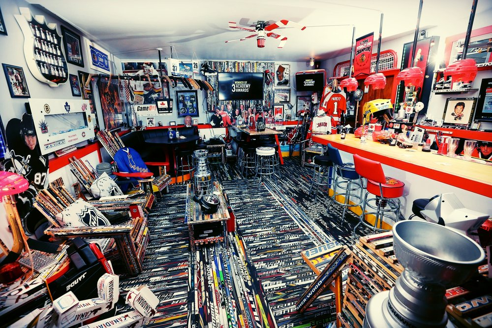 Man Cave Hockey Signs : Ultimate man cave ideas furniture signs decor