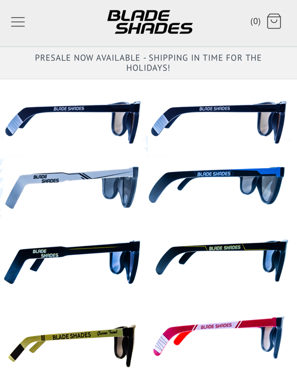 See the Blade Shades' full line up!