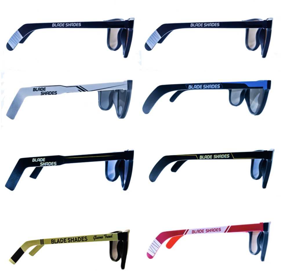 Blade Shades - Hockey Stick Sunglasses for Every Hockey Fan. On Sale Now!