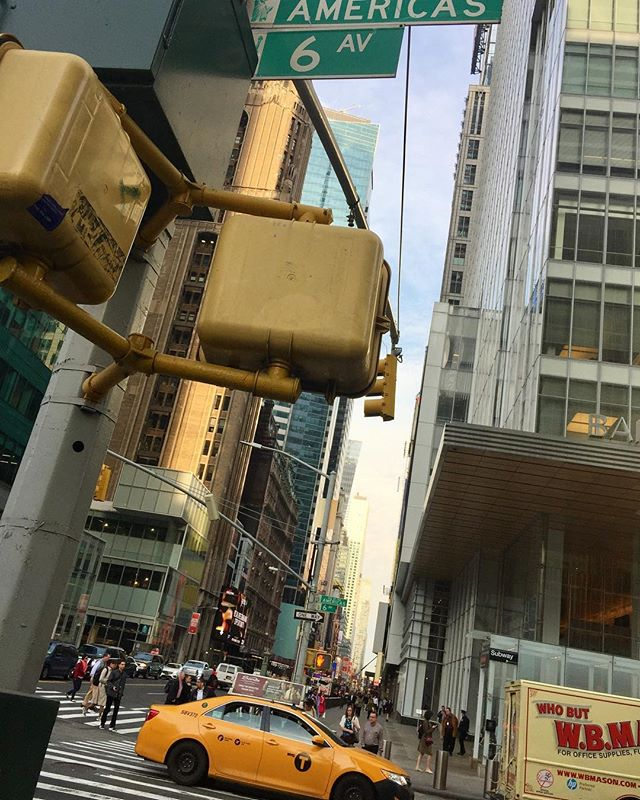 Morning on 42nd Street. #nyc