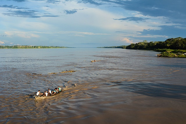 Photo Credit: Amazon River near Iquitos, Peru - By M M from Switzerland - Amazonas, Iquitos - Leticia, Kolumbien, CC BY-SA 2.0