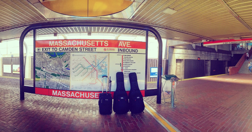 Massachusetts Avenue T-Station.