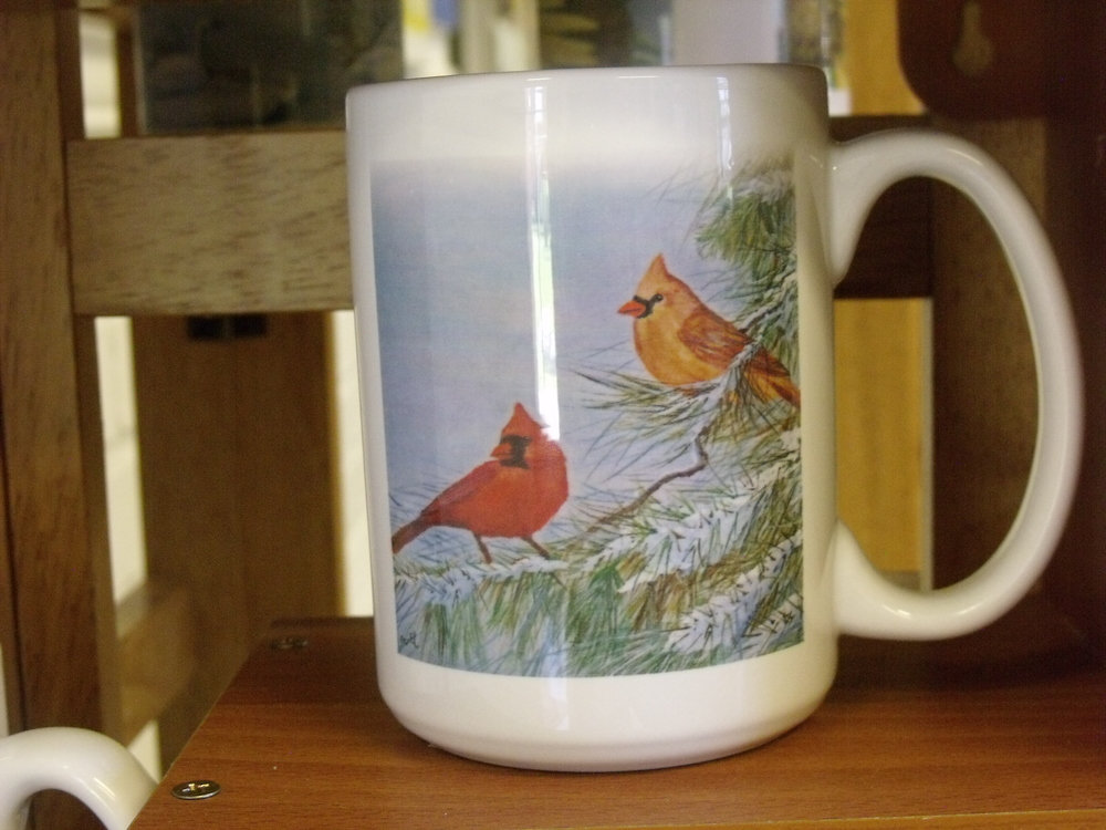 Coffee Mugs by Becky Jones  $8