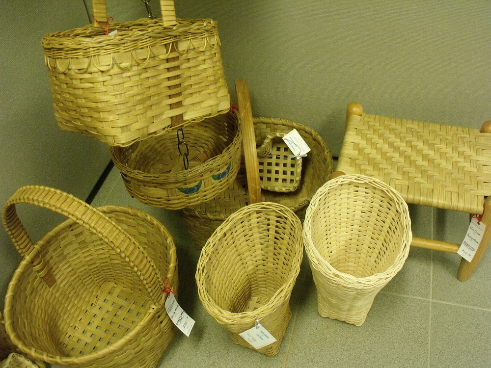 Reed Baskets by Pearly Moore