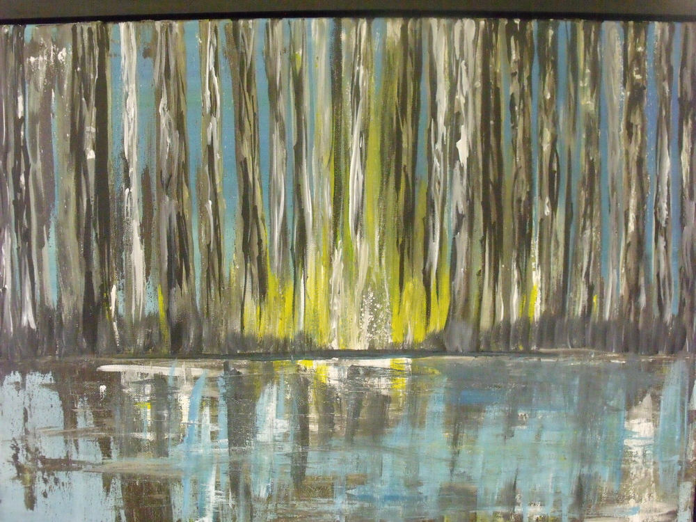 Cypress Reflection by Renee St.Hilaire  $225