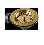 GOLD BASKET WASTE STRAINER