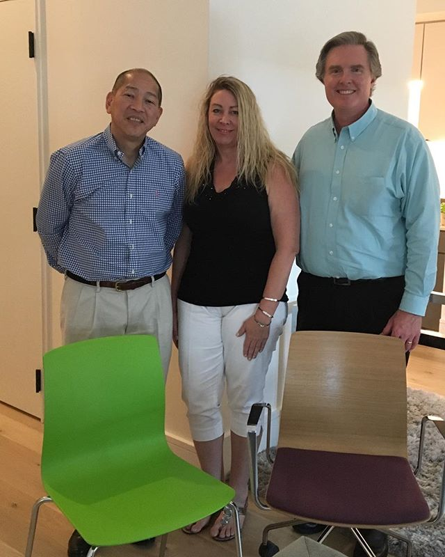 Excited that we met with Gary Chin of Dauphin and Bill Abstein of Abstein and Associates this this week! We'll be posting some of the newest designs shortly! - - - -  #businessmeeting #officefurniture #commercialdesign #style #interiordesign #furniture #gulfcoast #furniturefriday #bts