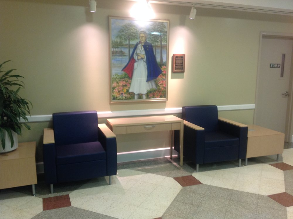Memorial Hospital e.r. waiting room, Gulfport, Mississippi