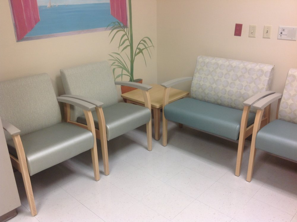 Memorial hospital waiting room, e.r. dept., gulfport, mississippi