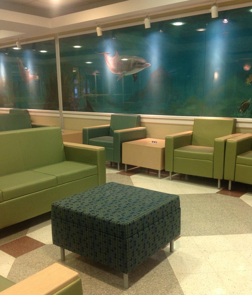 Memorial hospital e.r. waiting room, gulfport, mississippi
