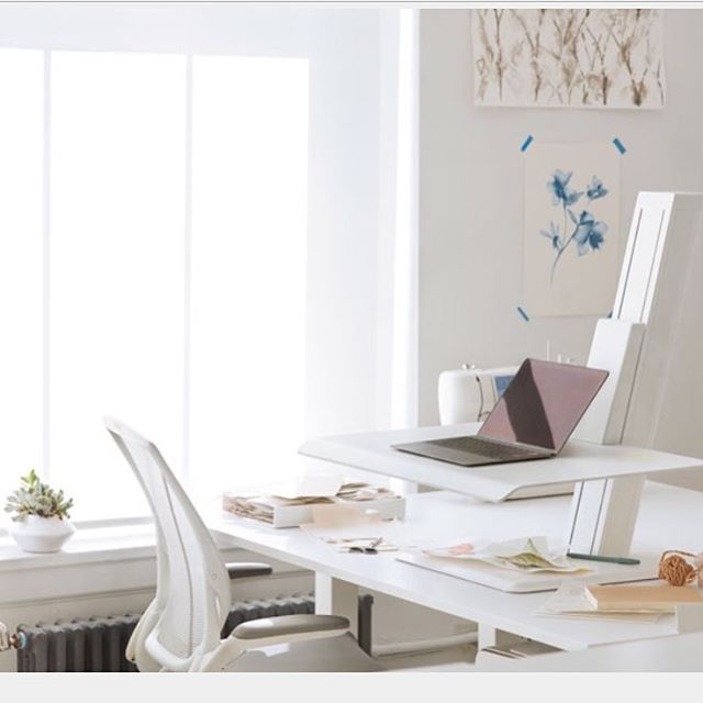 Furniture Friday alert: sit-to-stand desks are among our favorite products this season. Pictured here is one via @humanscalehq - on our blog next week we will be sharing more information about why these are so great for your workspace! Get in touch with us to find out more and place an order! - - -  #furniture #design #interiordesign #officespace #ecofriendly #sittostand #officelife #friday #furnishing #interiordecor #designlovers #inspiration #decorate #commercialdesign #commercialinteriors #friyay