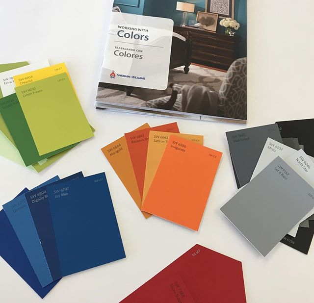 Something like  Working on color schemes today for several projects at Sherwin Williams. One of our favorite design elements is choosing paint colors! - - - -  #paint #design #interiordesign #commercialinteriors #projects #gulfcoast #neworleans #officespace #commercialdesign #fallmakeover #sherwinwilliams