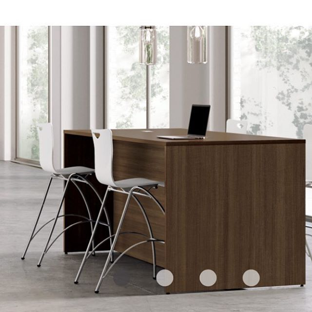 New from @nationalofficefurniture: The Strassa Tables combine classic structure with today's need to collaborate. Worksurface, counter, and bar heights in multiple sizes, allow flexibility so that Strassa can be used throughout an entire environment. With Strassa, the possibilities are endless...education spaces, corporate areas, café spots, design studios! Call us today to place an order or find out more! . . . . #gulfcoast #officespace #interiordesign #officefurniture #newproducts #design #commercialdesign #gsa #contractfurniture #furniture #architecture #sleek #elegant #womanownedsmallbusiness #tables #nola #followyournola #nolacreatives