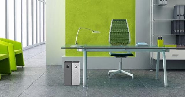 We are excited to sell the new slim-line wastebasket from Allé by Tallus -- it can fit in seamlessly with an open office environment. The thin profile allows Tallus to fit in small spaces without detracting from furniture pieces it accompanies. Call us or visit our website to place your order today! - - - #commercialinteriorsinc #officefurniture #officespace #garbagecan #tallus #sleek #design #interiordesign #interiordecorator #gulfcoast #womanownedsmallbusiness #smartdesign #officefurniture #officeaccessories