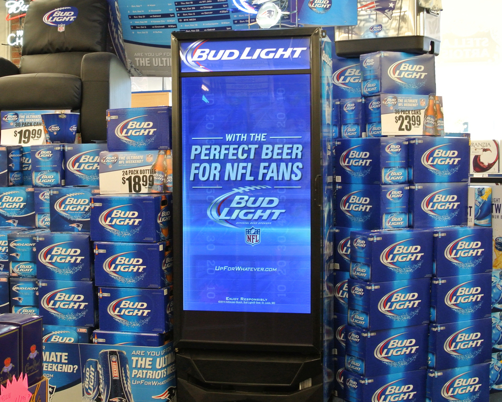 Anheuser-Busch Digital Cooler Network with Aerva