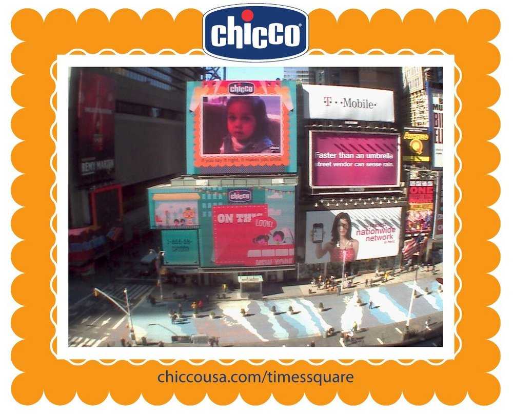 Chicco-Times-Square-Signage