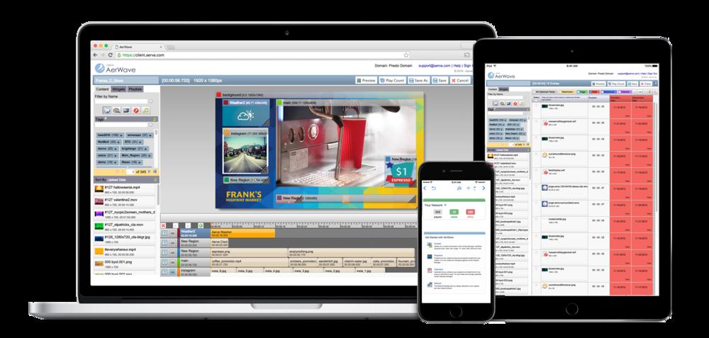 AerWave Digital Signage Software