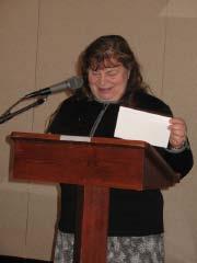 Outgoing President    Joan Zumpfe