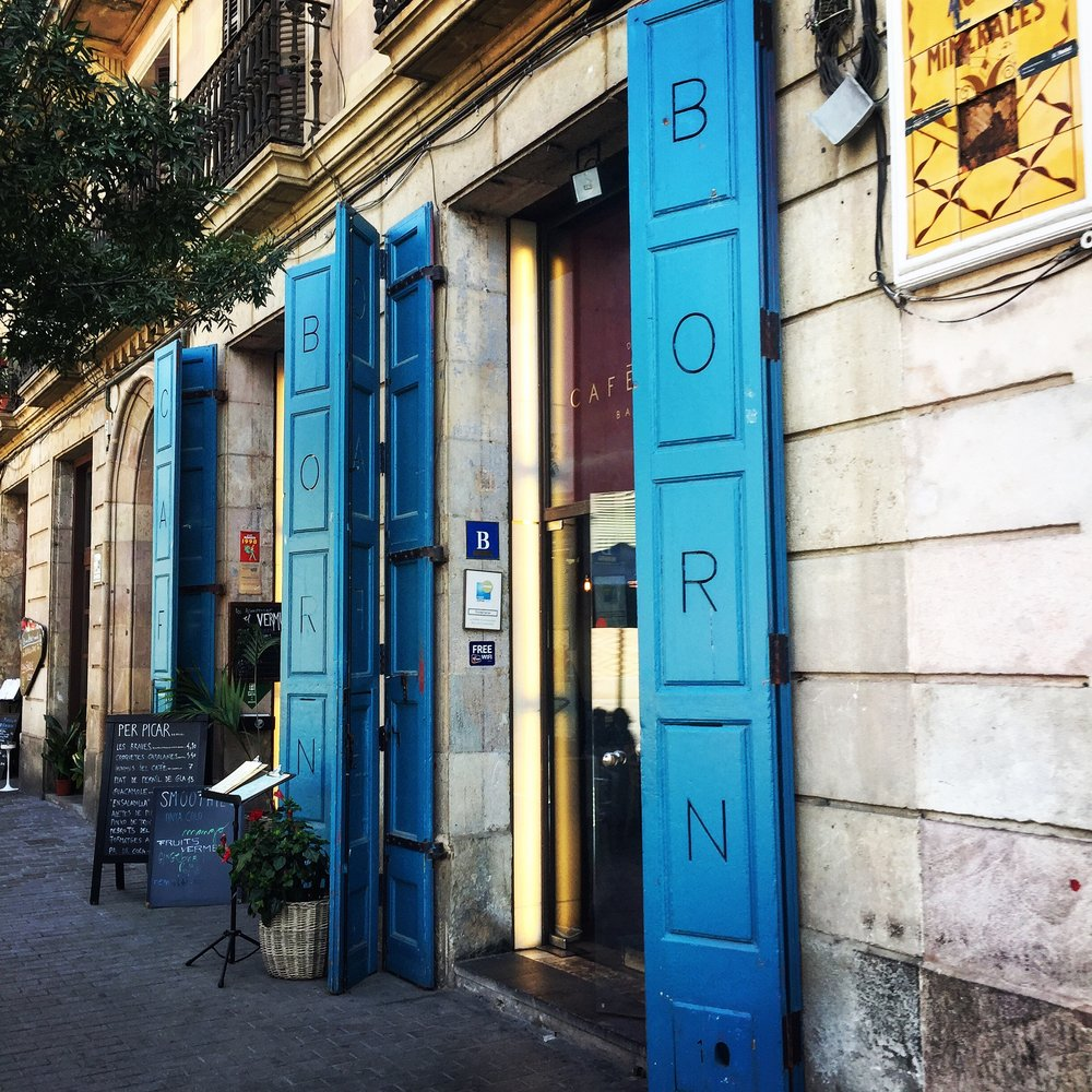 El Born: My neighborhood in Barcelona.