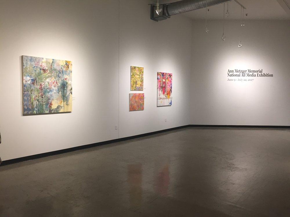 Ann Metzger Memorial National All Media Exhibition Jun 9-Jul 23, 2017. St. Louis Artist's
