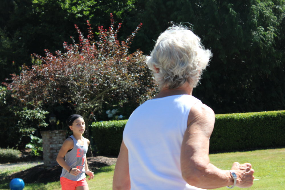 You're never too old or too young to develop a love of fitness