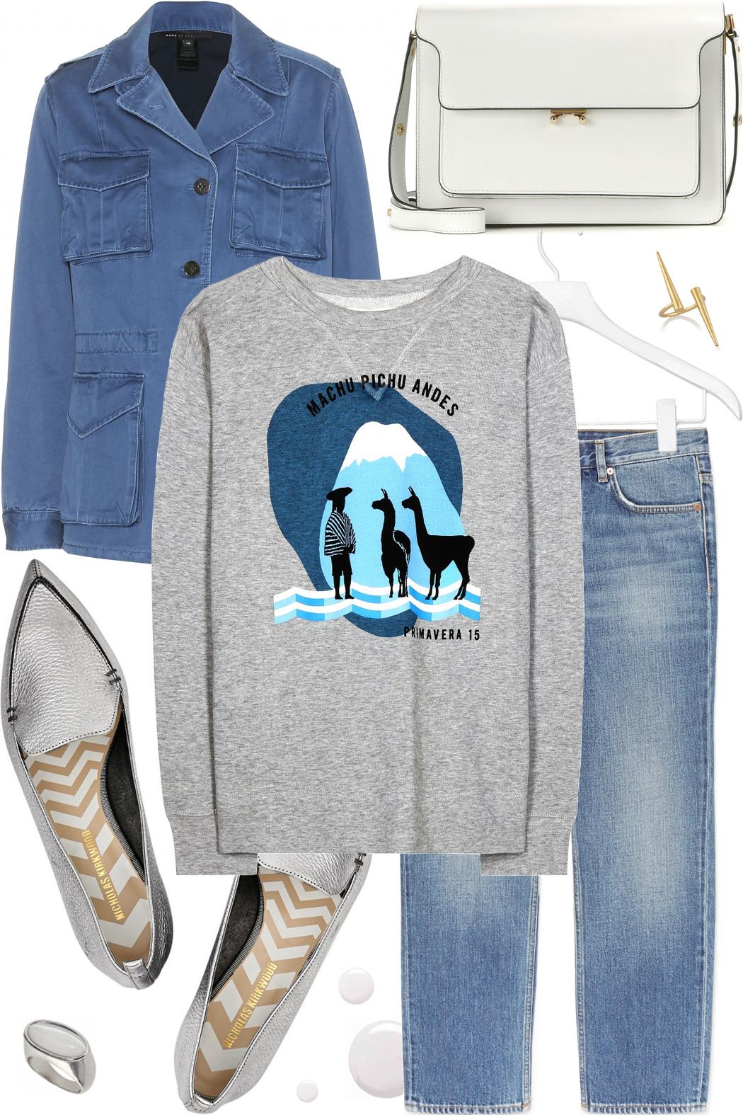 Sweatshirt look fash-n-chips.com
