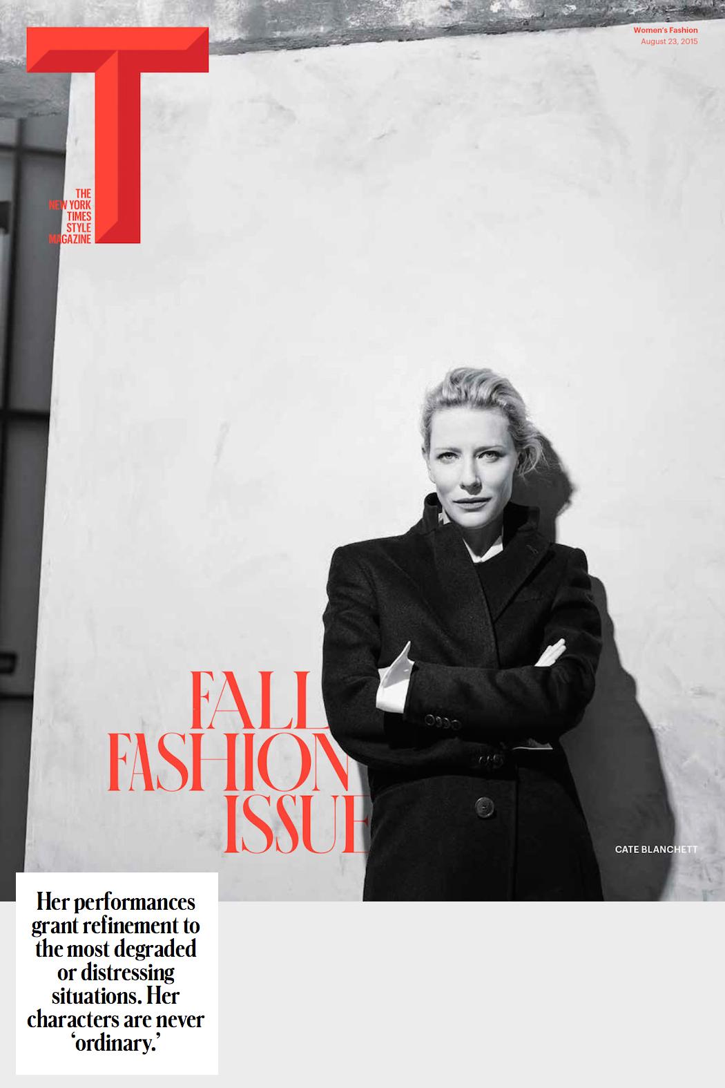 Cate Blanchett T Mag 2015 1