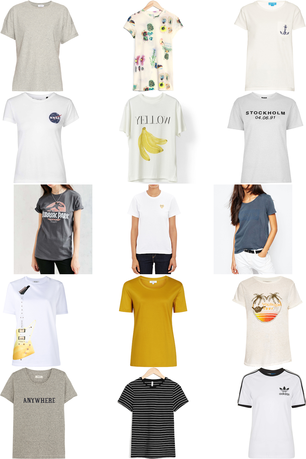 15 t-shirts fash-n-chips.com