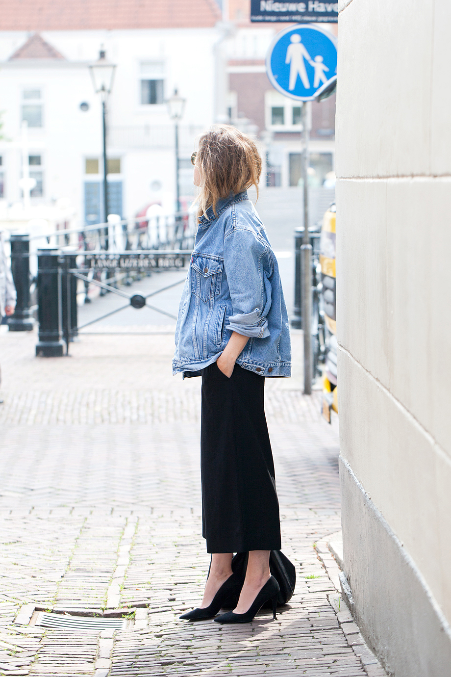 Denim and culottes fash-n-chips.com