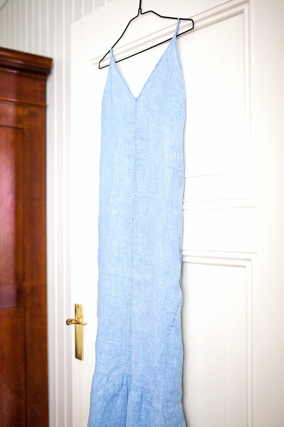 J Brand denim maxi dress fash-n-chips.com