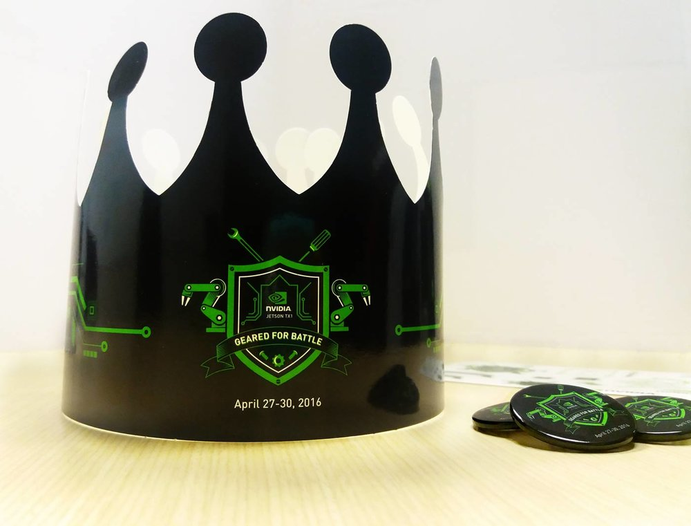 Crowns and pins