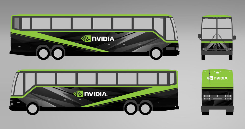 GeForce Pascal tour bus