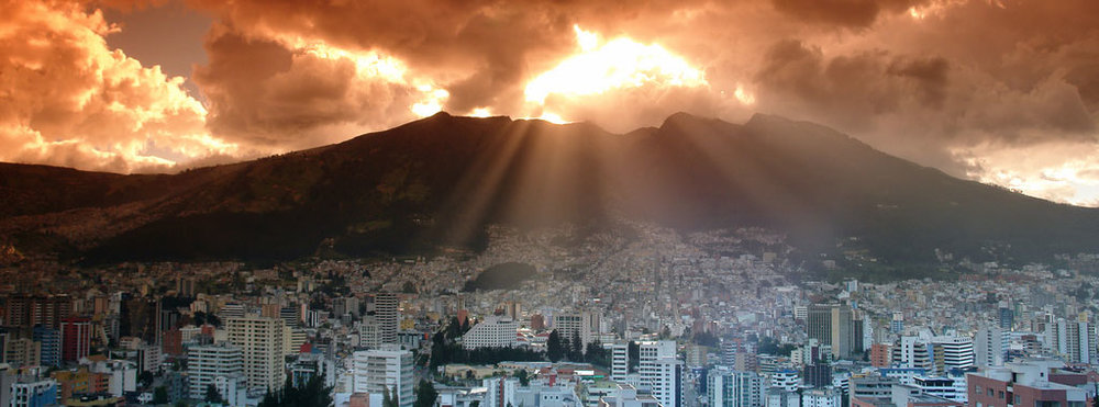 quito sunrise