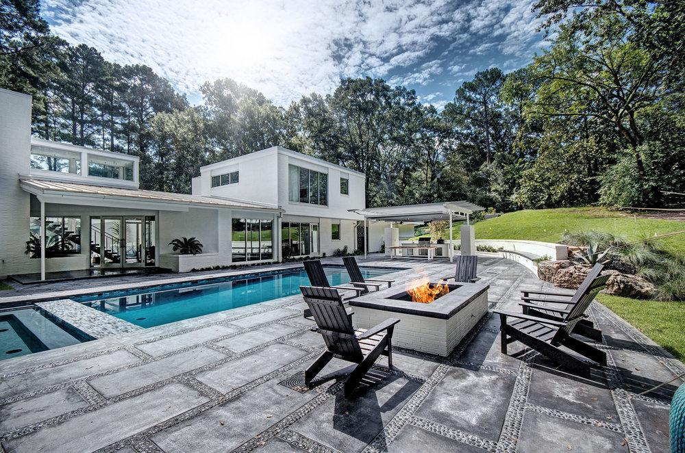 pools + patios