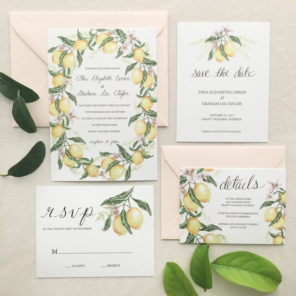 Janice Nelson Designs — New Custom & Semi-Custom Wedding Stationery!