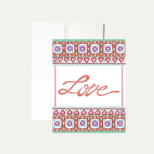 Janice nelson designs greeting cards janice nelson made in usa a2 55 x 425 watercolor love greeting card m4hsunfo