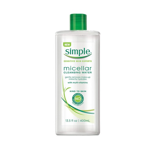 second cleanse - Simple Micellar Cleansing Water -- $8.99