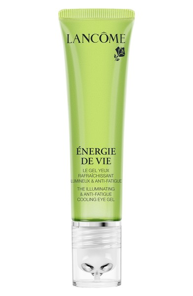 to fight under eye darkness and puffiness - Lancome Énergie de Vie The Illuminating & Anti-Fatigue Cooling Eye Gel -- $39