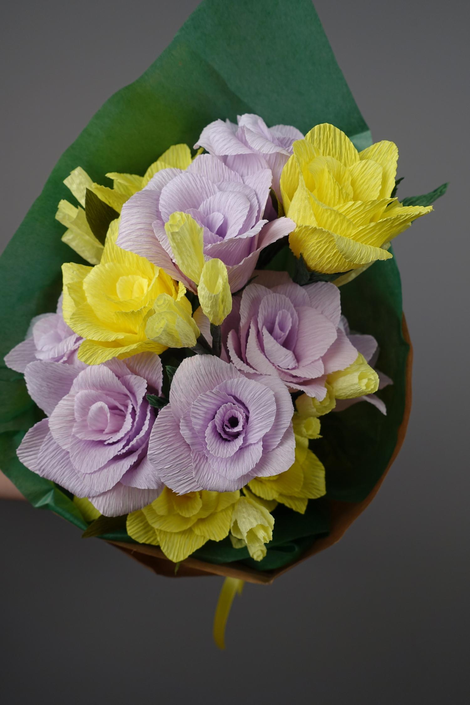 Bunch Of Paper Roses Alyson Thiel
