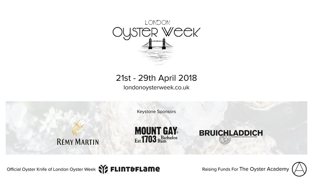 London Oyster Week sponsors and partners