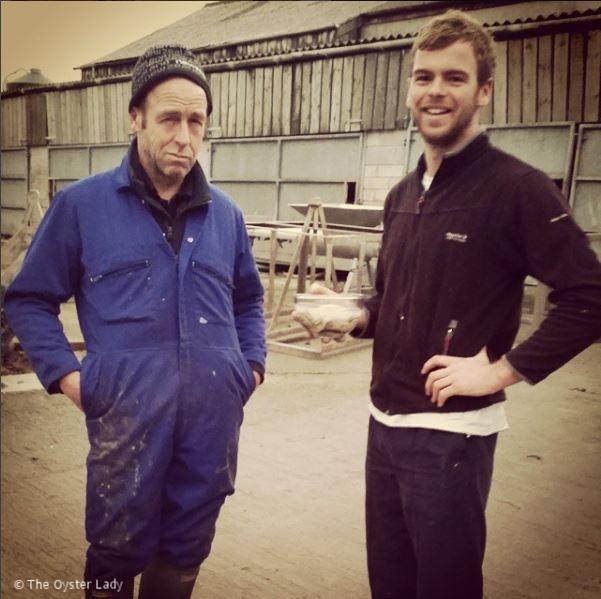 Tim & Luke Marshall, Porthilly Oysters