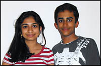 Apoorva and Adarsha